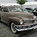 Nash ambassador fastback sedan - 1948