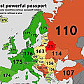 Most Powerful European Passports
