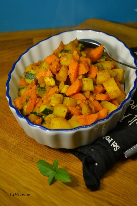 Curry de légumes4