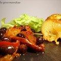 Calamars farcis au pecorino et chorizo
