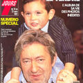 Couverture magazine serge gainsbourg