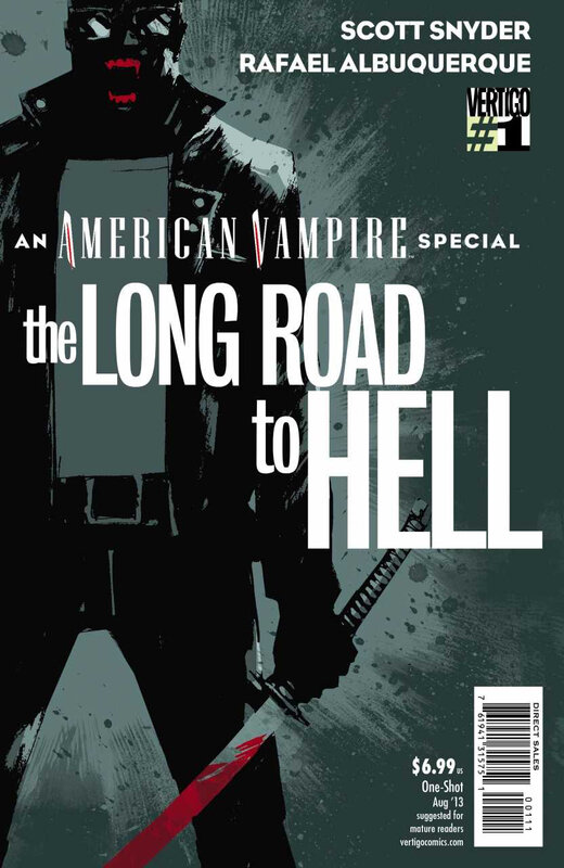 vertigo american vampire special the long road to hell