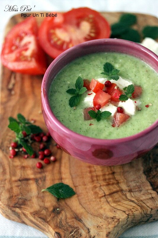soupe courgette concombre untibb