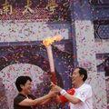 Le relais de la Flamme olympique demarre à Kaifeng