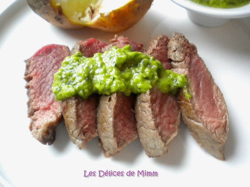 Steaks sauce Chimichurri 4