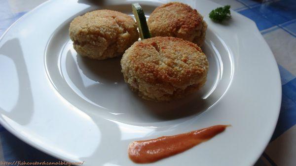 Croquettes panées de thon au fromage (6)