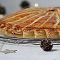 ...galette des rois saveurs yuzu avec une pâte feuilletée escargot facile et rapide...