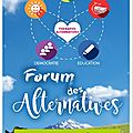 Forum des alternatives 2017
