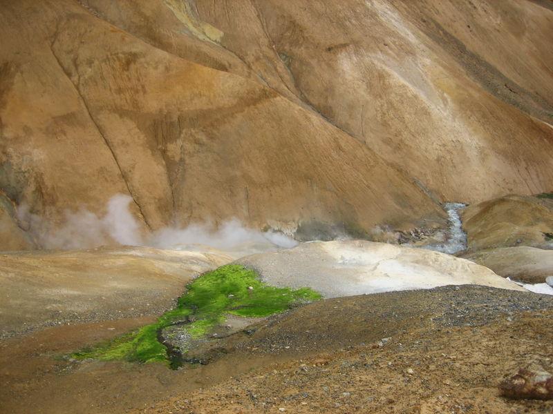 Site géothermique dans les hautes terres