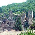 Château de cuzorn, le saint graal