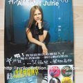 Panneau promotionnel japonais Let Go (2002)