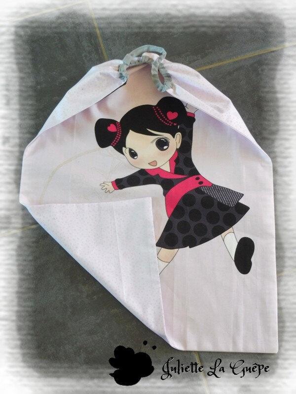 serviette xl Geisha1