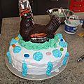 Gâteau arc-en-ciel !