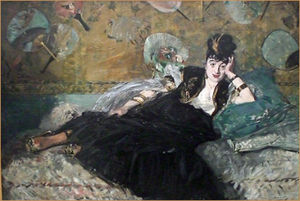 La Dame aux eventails de Manet