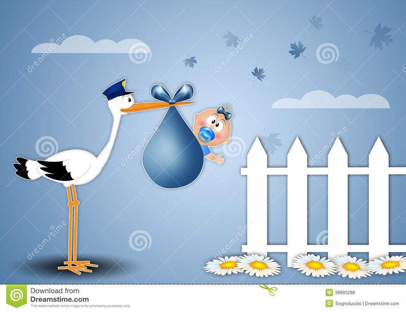 cigogne-livrant-le-bébé-garçon-pour-la-naissance-38893288