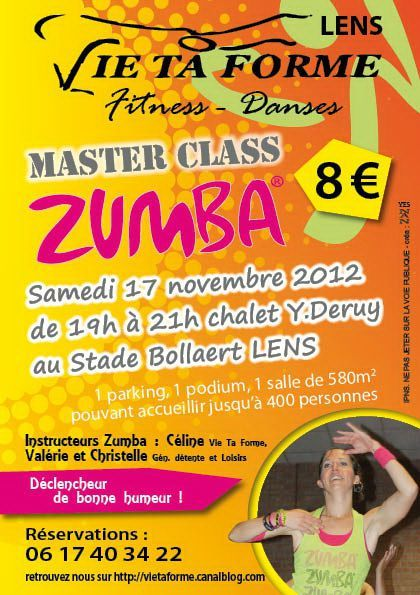 Zumba 17nov Flyer web