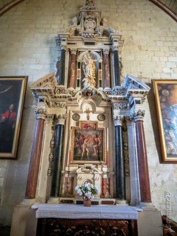 L'église Saint-Michel, église paroissiale de Fontevrault IMG_7917