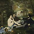 Le déjeuner sur l'herbe - edouard manet (1863)