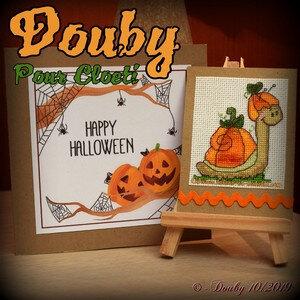 20191105_douby BE_escargot halloween