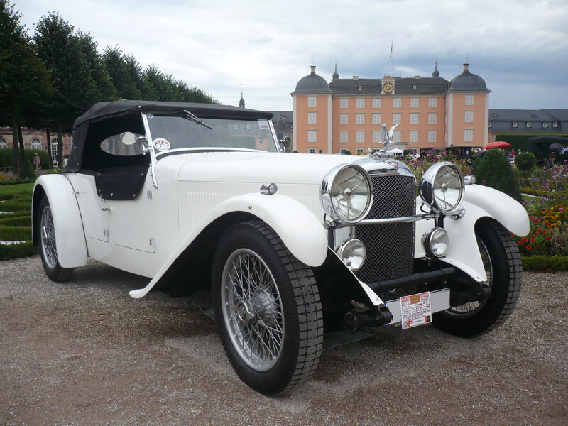 ALVIS Speed 20 SA Tourer Cross & Ellis 1932 Schwetzingen (1)