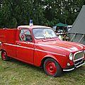 RENAULT 4L berline modifiée VPI des pompiers 1963 Madine (1)