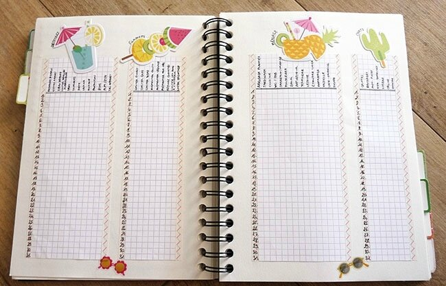 Bujo aout 2017 - Trackers
