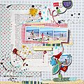 3 pages en elaïa design et scrapbuttons!!!