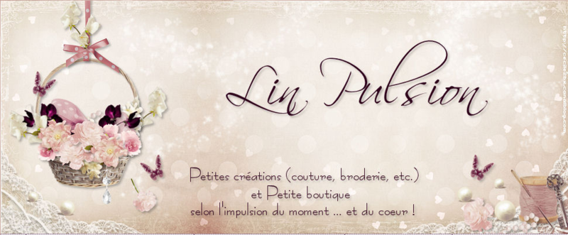 LIN PULSION - BRODERIES