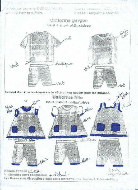 uniforme maureen