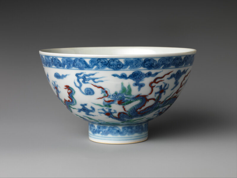 Bowl, Ming dynasty (1368–1644), Zhengde mark and period (1506–21)