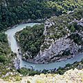 Gorges du Verdon, route des crêtes, balcons de la Mescla 3 (83)