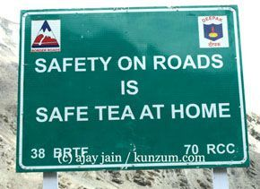 Safety on roads