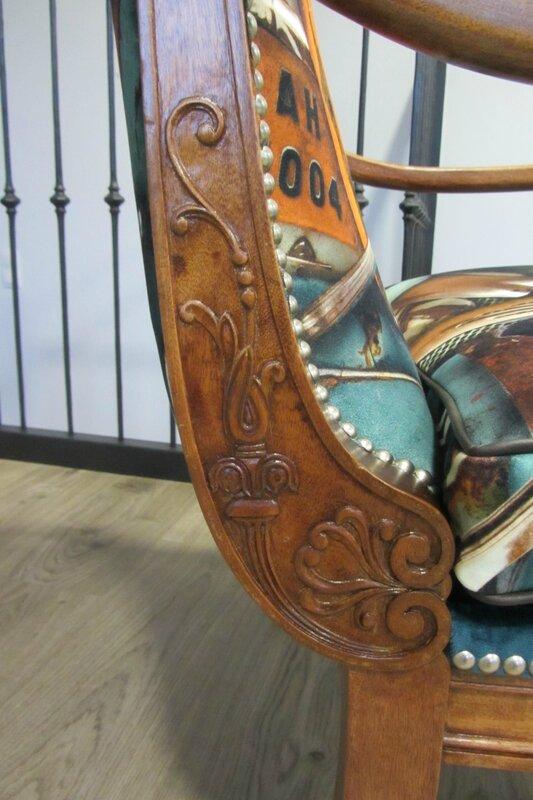 fauteuil de style anglais
