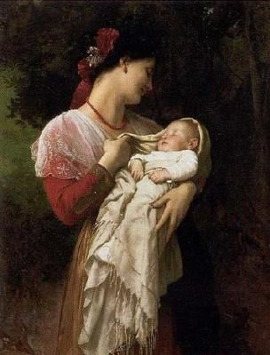 Adolphe_William_Bouguereau_Mother_And_Child_10185