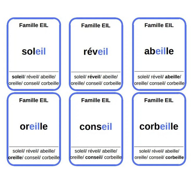 7 familles les sons complexes