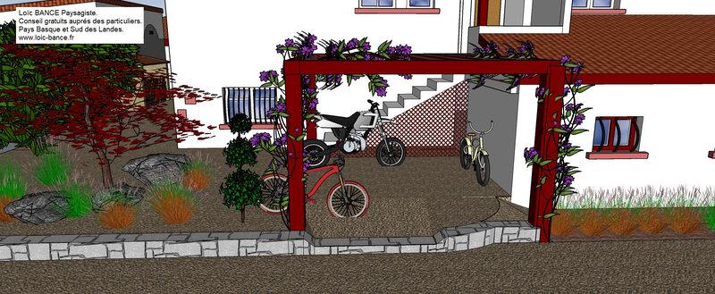 Paysagiste-Bayonne-64100-25-Abris-deux-roues-Loic-BANCE