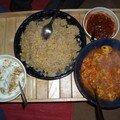 Chicken salan/ poulet penjabi