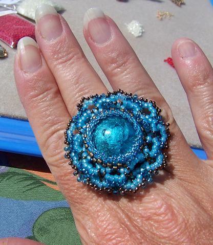 Isalala turquoise murano