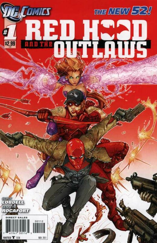 new 52 red hood and the outlaws 01 2e print