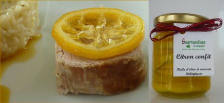 filet mignon au citron confit