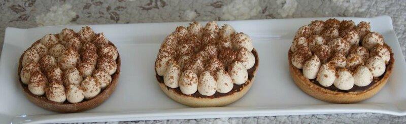 Tartelette Chocolat, café, whisky speyside 12 ans 1