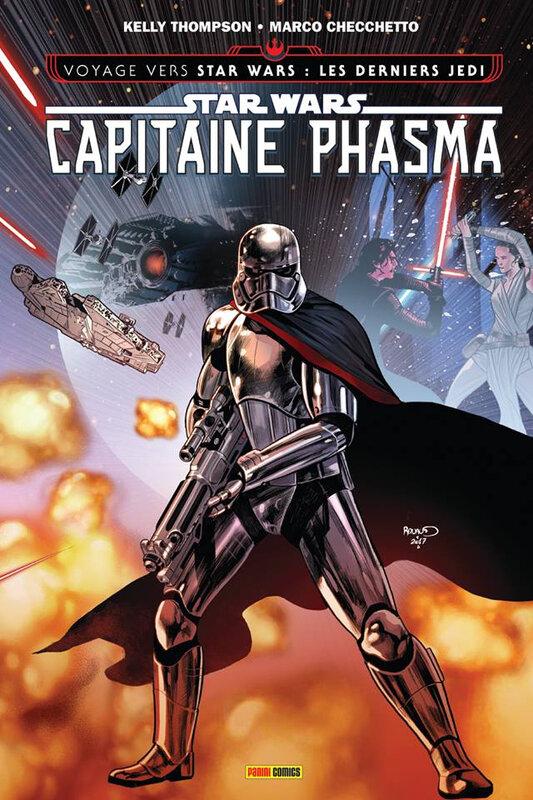 100% star wars capitaine phasma la survivante