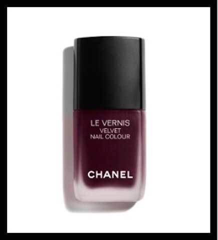 chanel velvet nail colour profondeur