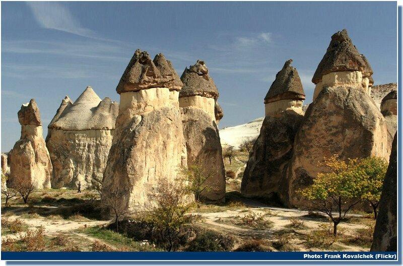 Cappadoce-Goreme-cheminées-des-fées