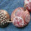 Collier fraises des bois, vue 3