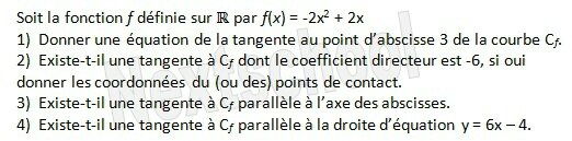 1ere derivation fonctions derivées 3 5