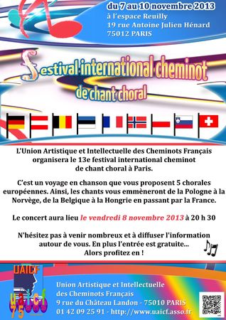 FLYERS-chant choral-2013