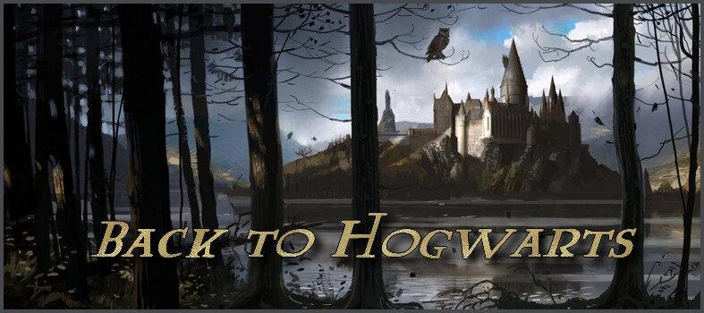 [Tag n°29] Back to Hogwarts