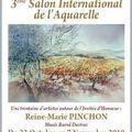 Salon international de l'aquarelle à aiguillon