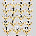 Monogrammes orsoir.............